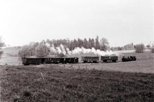 """Im """"Kreisel"""" bei Löthain 1971"""