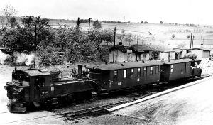 Personenzug nach Meissen in Löthain am 7.5.1966, (C) G.Meyer