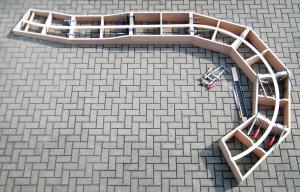 """Aufteilung der Module im """"Kreisel"""""""