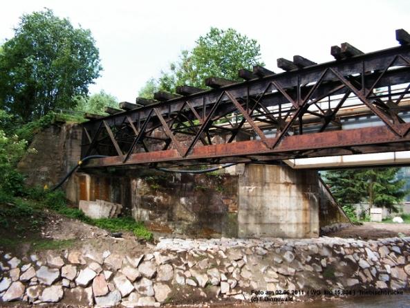 Triebischbrücke am km 15,804 WG-Linie (Meißen-Triebischtal)