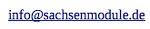 e-mail / sachsenmodule.de